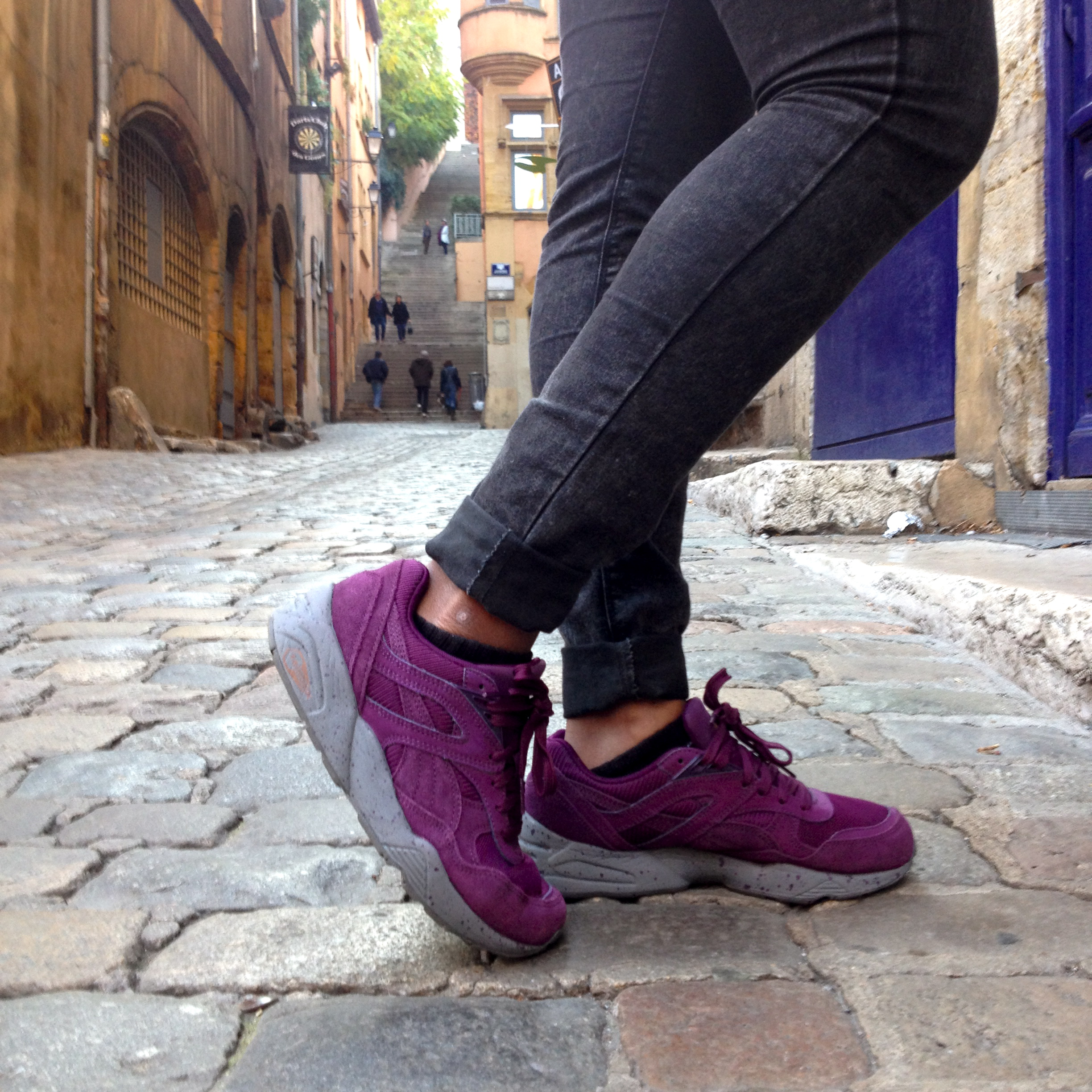 puma trinomic winterized grise